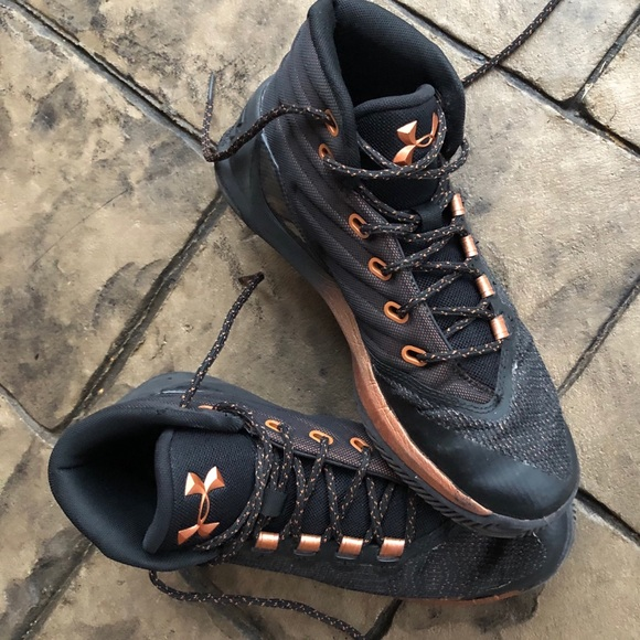 rose gold under armour shoes off 54